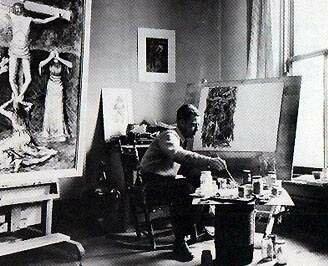 Miller Brittain, Artist