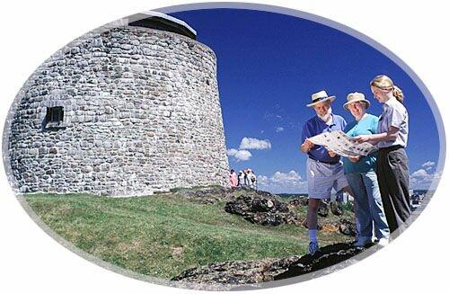 Carleton Martello Tower National Historic Site of Canada, Saint John, New Brunswick