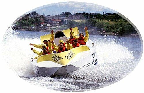 Jet Boat Toursa Reversing Falls, Saint John, New Brunswick