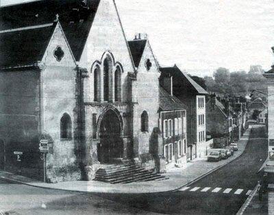 Nogent-le-Rotrou's old town