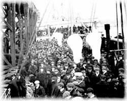 Immigrant ship
