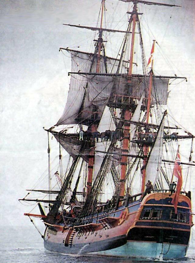 Marco Polo Project Saint John New Brunswick-H.M.B. Endeavour