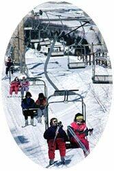 Skiing on Sugarloaf