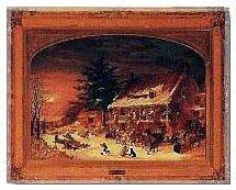 Cornelius Kreighoff, Merrymaking, 1860