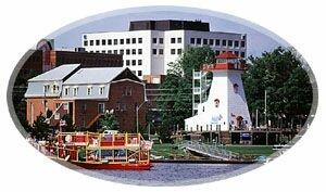 Fiverfront Walk-Fredericton New Brunswick