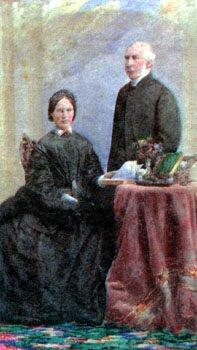 Margaret & John Medley, ca. 1860s