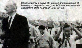 John Humphrey in Ultan Bator 1965