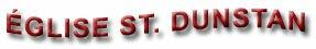 �glise St. Dunstan-Fredericton, New Brunswick