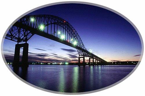 Bridge over the Miramichi River, New Brunswick