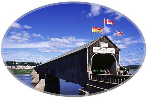 World's largest covered bridge, Hartland New Brunswick