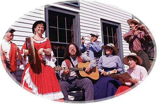 Musicians, King's Landing Historical Settlement, Prince William, New Brunswick