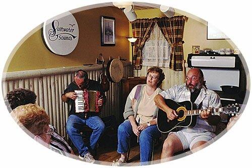 Kitchen Party, Saltwater Sounds, Miramichi, New Brunswick