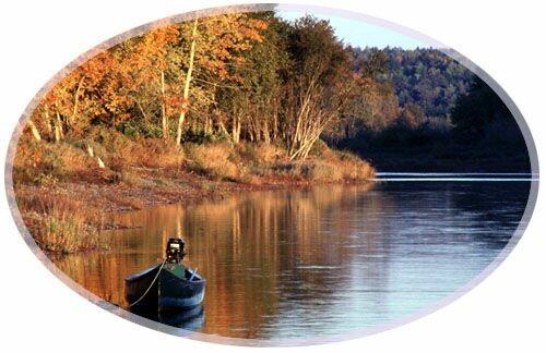 Fall scenery Sussex, New Brunswick