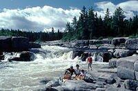 Pabineau Falls, Bathurst
