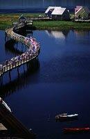 Footbridge, Le Pays de la Sagouine, Bouctouche