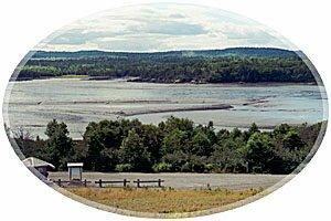 Mud Flats-rving Nature Park, Saint John, New Brunswick