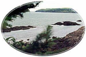 View from rving Nature Park, Saint John, New Brunswick