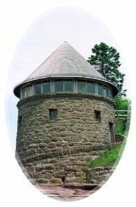 circular bathhouse