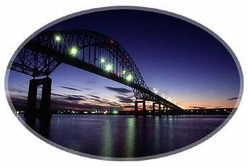 Miramichi bridge - Pont de Miramichi, New Brunswick