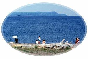 Beach, Eel River Bar, Chaleur Park, Charlo, New Brunswick