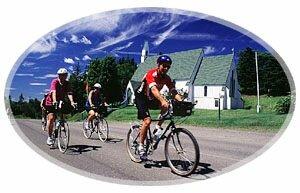 Biking -St.George, New Brunswick